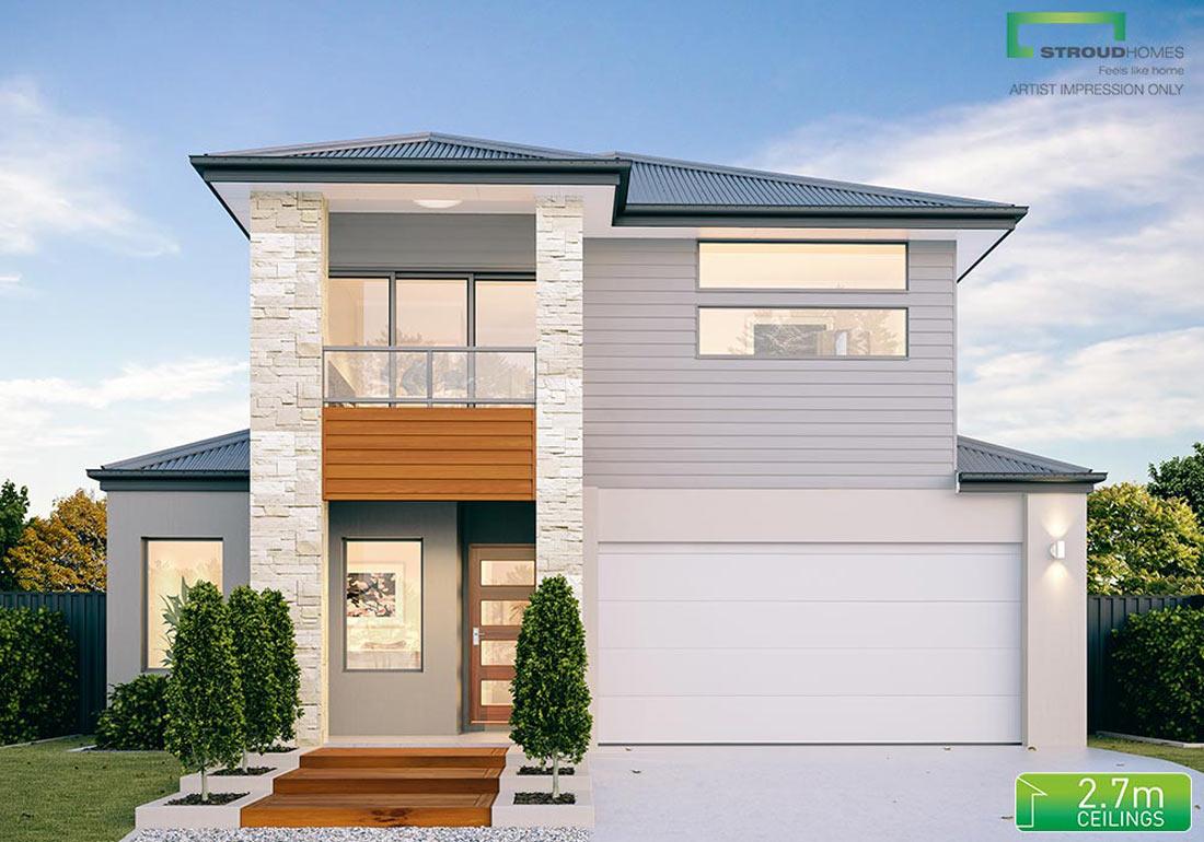 stroud homes kauri 280 facade