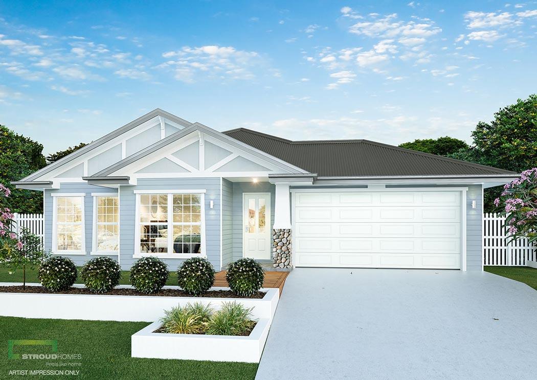 stroud homes milford 190 facade